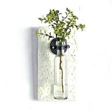 metal tin wall planter small vase large rustic pocket vases