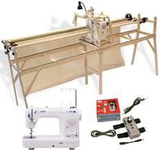 Grace Sturdy-Lite Quilting Frame, Juki TL98QE Long-Arm Sewing ... & grace-combo4-med.jpg Adamdwight.com