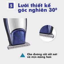 Tông Đơ Cắt Tóc, Bấm Viền, Chấn Viền Kemei 5021 Cao Cấp - Đã Mài Chuốt Lưỡi  - Bảo Hành 6 Tháng