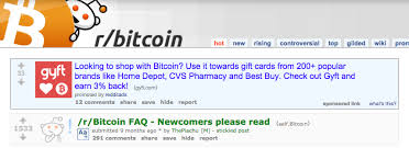 Prove Bitcoin Payments Ad To Coindesk Reddit Users Asks For Demand