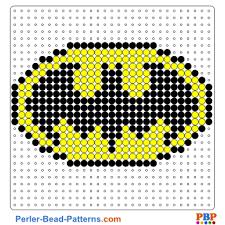 Perler Bead Pattern Fascinating Batman Shield Perler Bead Pattern And Designs Bead Sprites