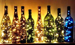 Lights For Wine Bottles Empty Wine Bottles Sale Sale And Recycled Wine Bottles On Pinterest