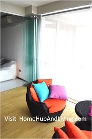 singapore private property fully opened frameless door enjoy privacy in balcony area side view from balcony