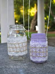 How To Decorate Mason Jars DIY Mason Jar Lanterns Make Life Lovely 49