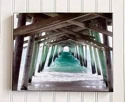 Tide Chart For Bogue Inlet North Carolina Emerald Isle Beach Pier Picture Bogue Inlet Pier Coastal Photography Beach Lovers Gift Beach Print Beach Decor