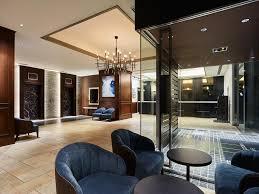 the lobby or reception area at mitsui garden hotel shiodome italia gai