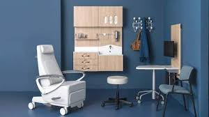 Office furniture designer Stainless Steel An Exam Room Featuring Variety Of Products Designed To Foster Meaningful Conversation Between Patient And Losangeleseventplanninginfo Herman Miller Modern Furniture For The Office And Home