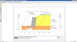 Small Picture DC Gabion Geotechnical Design Software Earth Retaining