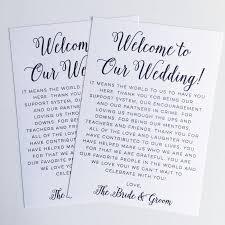 Printable Wedding Welcome Letter Instant Download Destination