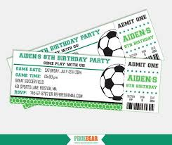 Soccer Party Invitation Template Easily Create Super Cool Soccer Birthday Invitations With