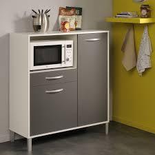 Parisot Mehrzweck Küchenschrank Optibox 2 Weiß Grau Storage