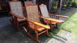 rattan rocking chair philippines design ideas