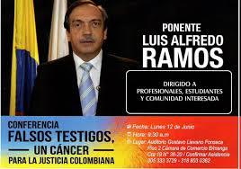 Resultado de imagen para Exsenador Luis Alfredo Ramos