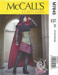 Assassins Creed Costume Pattern Mesmerizing YaYa Han Cosplay Costume Pattern Misses 4848 McCall's 48 NEW