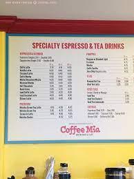 Coffee mia's breakfast panini at coffee mia brew bar & cafe this is a great breakfast place! Online Menu Of Coffee Mia Brew Bar Cafe Restaurant Marina California 93933 Zmenu