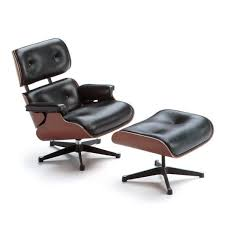 miniature lounge chair  ottoman by vitra