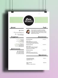 Beuatiful Resume Design Be Creative Find Us On Etsy 3 Creative