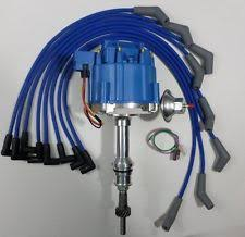 ford 302 distributor ford 5 0l 302 efi to carb conversion hei distributor blue spark plug wires usa