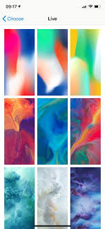 live wallpapers on iphone xr and iphone