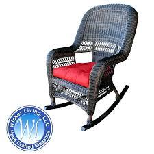 outdoor wicker swivel rocker chair all weather wicker patio swivel rocker lounge chair