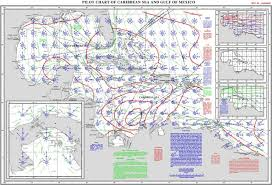 Prototypical Pilot Chart North Atlantic Ocean Pilot Chart Of