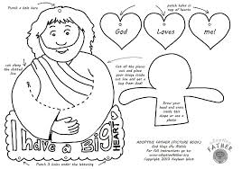 Free Kids Activity Page Jesus Loves Me Mobile Adoptive Father