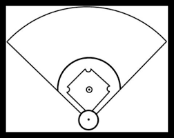 baseball field diagram printable   cliparts cobaseball diamond diagram   clipart best