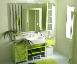 Small Green Bedroom Bathroom Mesmerizing Bedroom With Green Theme Also Modular Sink