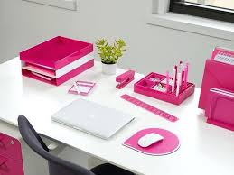 pink office desk. Pink Office Decor Amazing Superb Desk Decoration Within .