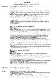 application developer resume. Software Application Developer Resume Samples Velvet Jobs