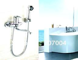 bathtub faucet with hand shower wall mounted tub faucet with hand shower bathtub faucet with sprayer