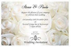Wedding E Invitations Obniiiscom