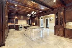 Stone Flooring For Kitchen Best Basement Flooring Options Interior Design With Some Of The