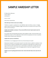 Extreme Hardship Letter Template Infinite So Printable For Loan