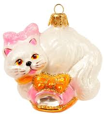 Christbaumschmuck Figuren Katzen Imp