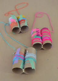 arts and crafts to do at home with toddlers. kids make this simple binocular craft with yarn and colored tape arts crafts to do at home toddlers i