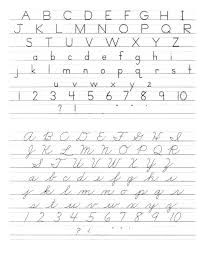 Printable Alphabet Writing Practice Sheets Cursive Handwriting Paper Free Learning Sheets Worksheets