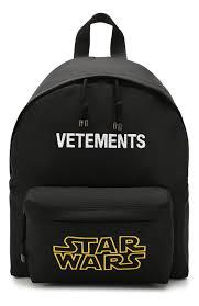 Женский черный <b>рюкзак star wars</b> x vetements VETEMENTS ...