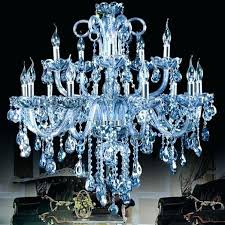 blue crystal chandeliers chandelier designs swarovski earrings