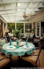 clear covered patio ideas. 3-Season Room With Screened Windows That Lower For Maximum Breeze 24 Clear Covered Patio Ideas S