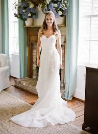 ultra feminine pretty ivory organza rustic wedding dress shoulder