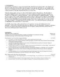 Download Mba Resume Sample Haadyaooverbayresort Com