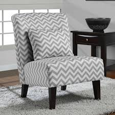 gray and white accent chair. Modren Chair Anna Grey White Chevron Accent Chair  Overstockcom Shopping  The Best  Deals On Chairs To Gray And I