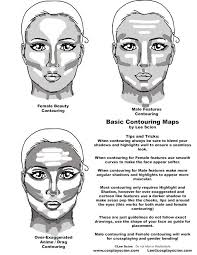 contouring for female male and anime drag features contouring tutorial drag makeup
