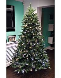 The 12ft Ultra Devonshire Fir Pre-lit with Warm White/White Colour change  LEDs