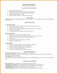 Examples Of Qualifications For Resume Best of Resume Skills And Abilities Example New Leadership 24 Images Free Cv