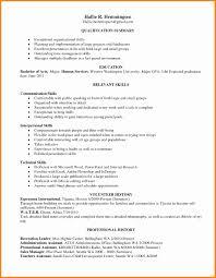 Resume Organizational Skills Examples Nmdnconference Com Example