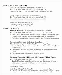 College Student Resume Template Word New 8 Sample Resumes In