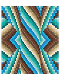 Spiral Burst Bargello Quilt Pattern &  Adamdwight.com