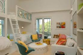 Best Bedroom Designs For Girls With Bunk Beds With Cool Bedroom
